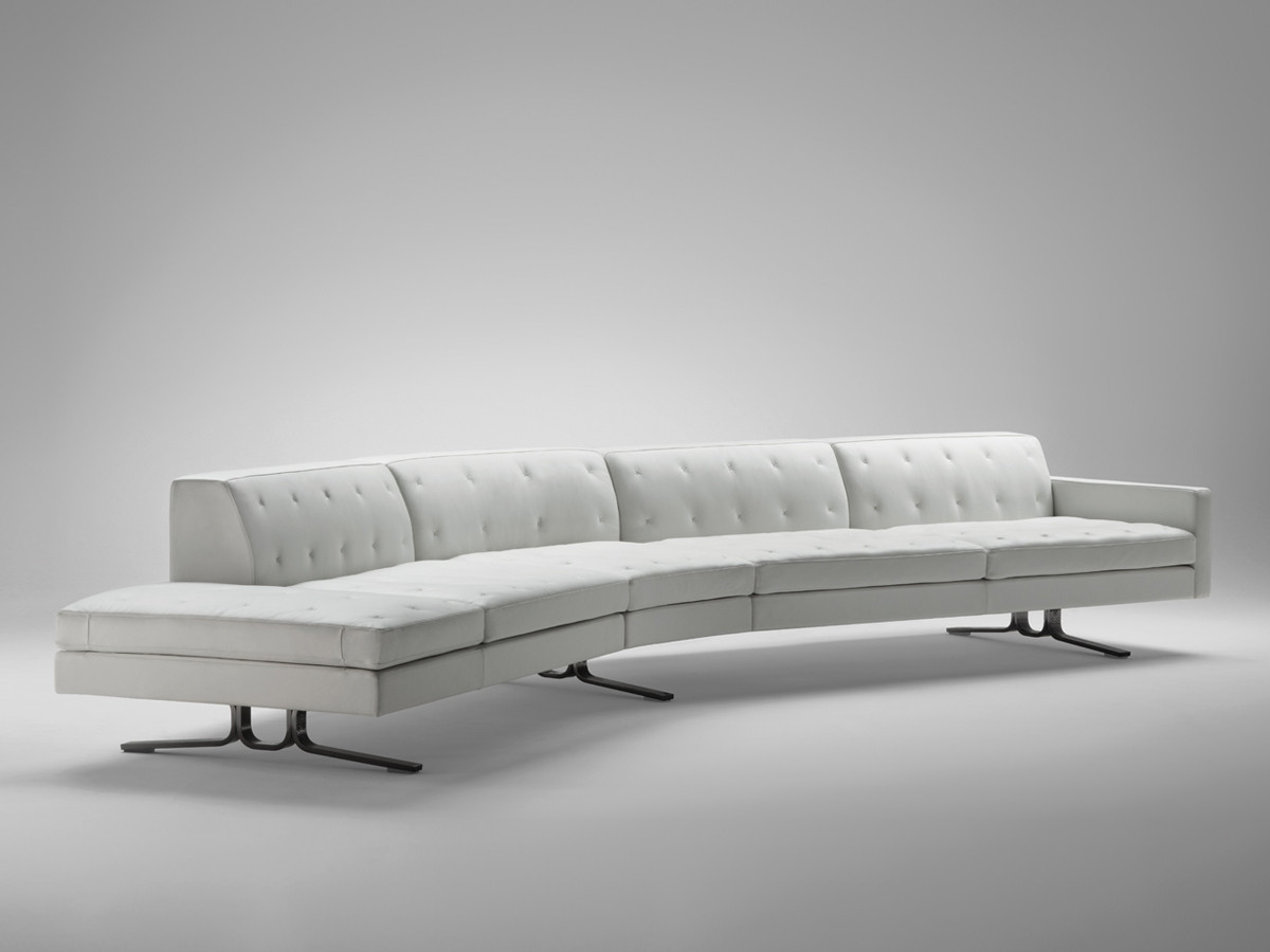buy the poltrona frau kennedee curved sofa at nestcouk - poltrona frau kennedee curved sofa