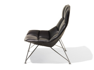 Knoll Jehs + Laub Lounge Chair with Wire Base