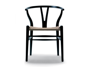 View Carl Hansen CH24 Wishbone Chair Painted Frame