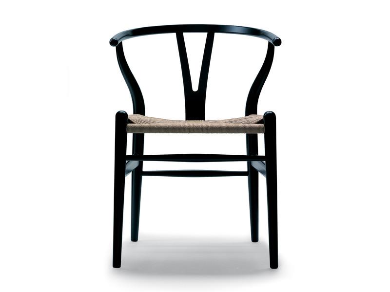 Carl Hansen CH24 Wishbone Chair Painted Frame