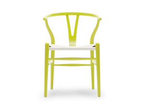 View Carl Hansen CH24 Wishbone Chair Citrus Version
