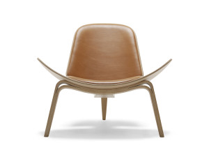 View Carl Hansen CH07 Shell Chair Oiled Oak