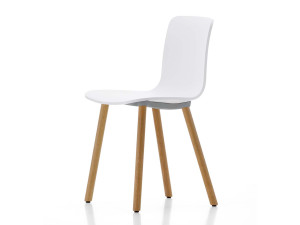 View Vitra HAL Wood Chair