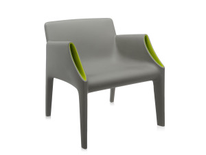 View Kartell Magic Hole Armchair Grey