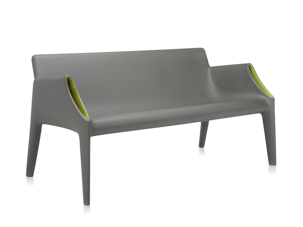 contemporary garden furniture  modern outdoor furniture  nestcouk - view kartell magic hole sofa grey