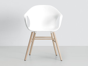 Kristalia Elephant Chair on Wooden Base