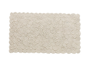 View nanimarquina Spiral Rug - Ivory