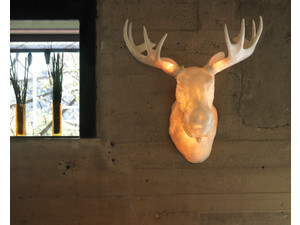 Northern Moo Wall Light
