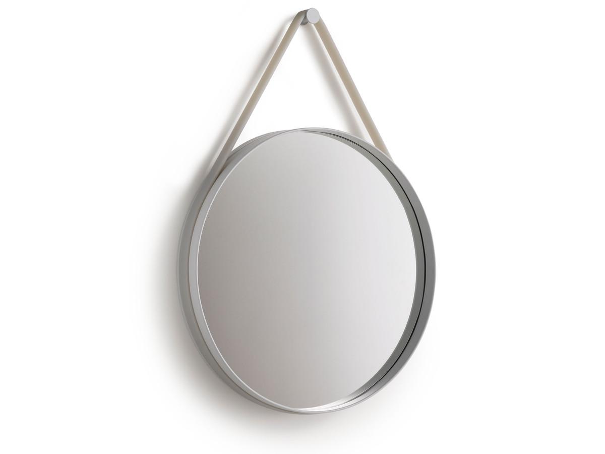 buy the hay strap mirror grey at. Black Bedroom Furniture Sets. Home Design Ideas