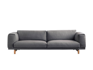 View Muuto Rest Three Seater Sofa