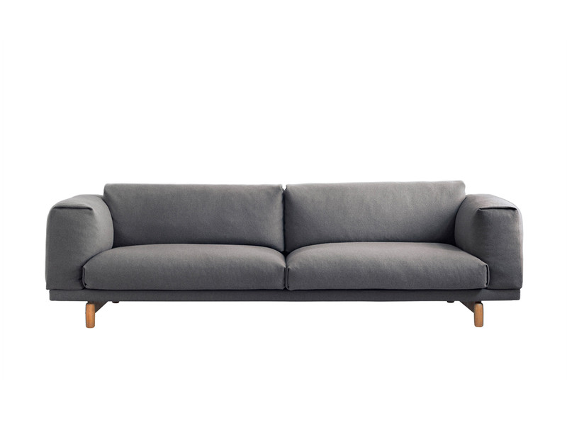 buy the muuto rest three seater sofa at nest co uk