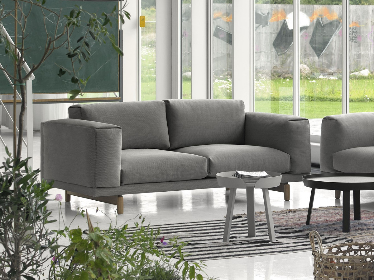 buy the muuto rest two seater sofa at. Black Bedroom Furniture Sets. Home Design Ideas