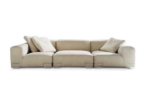 View Kartell Plastics Duo Three Seater Sofa