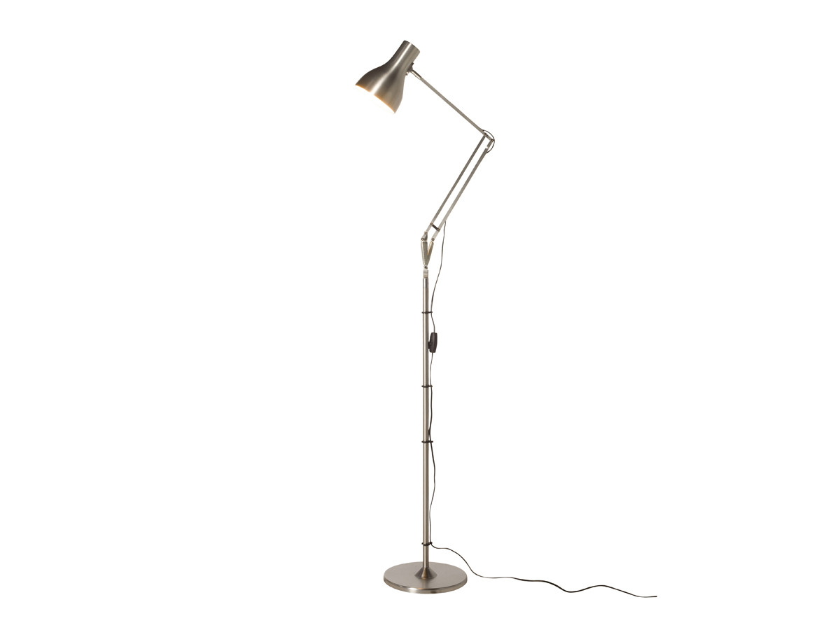 buy the anglepoise type 75 floor lamp at nestcouk With anglepoise type 75 floor lamp silver