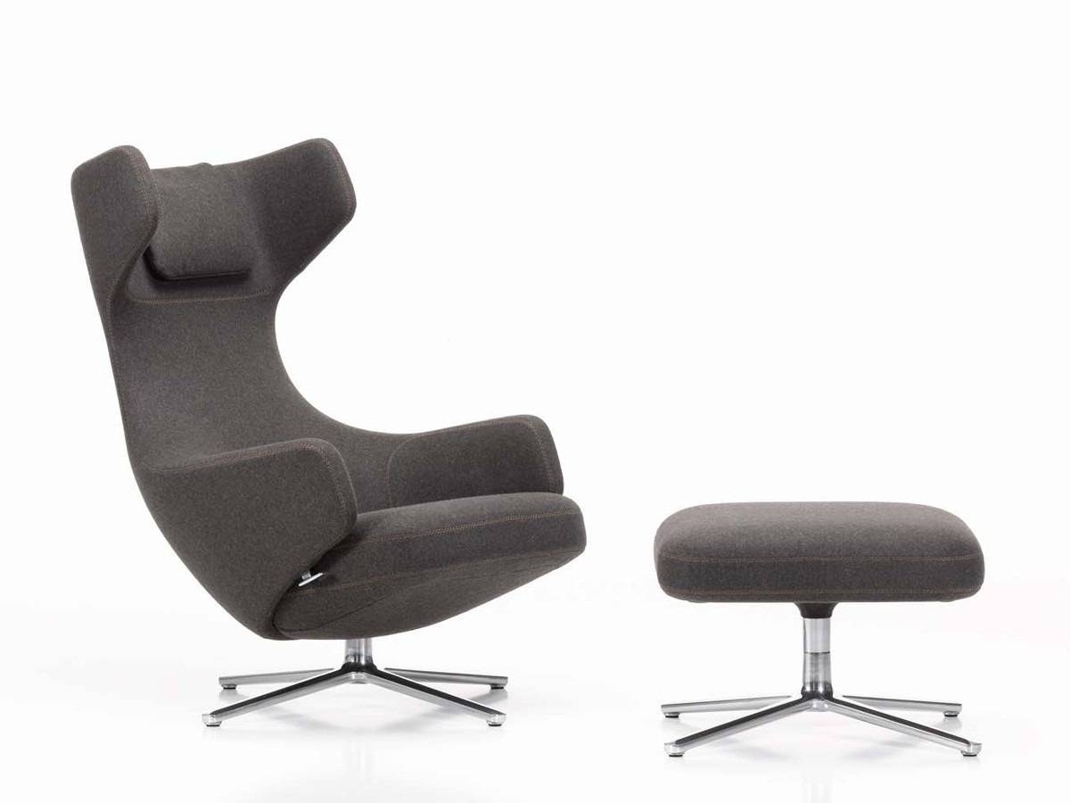 buy the vitra grand repos lounge chair at. Black Bedroom Furniture Sets. Home Design Ideas