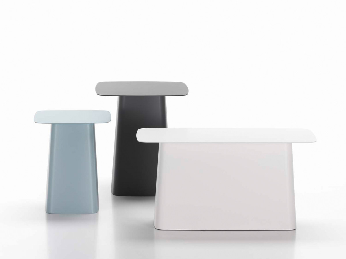 Buy the vitra metal side table outdoor at for Modern furniture companies