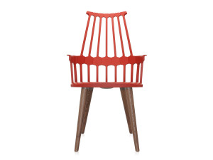 View Kartell Comback Chair with Wooden Legs