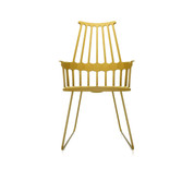 Kartell Comback Chair with Sled Base