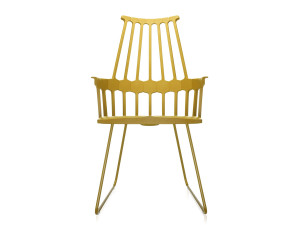 View Kartell Comback Chair with Sled Base