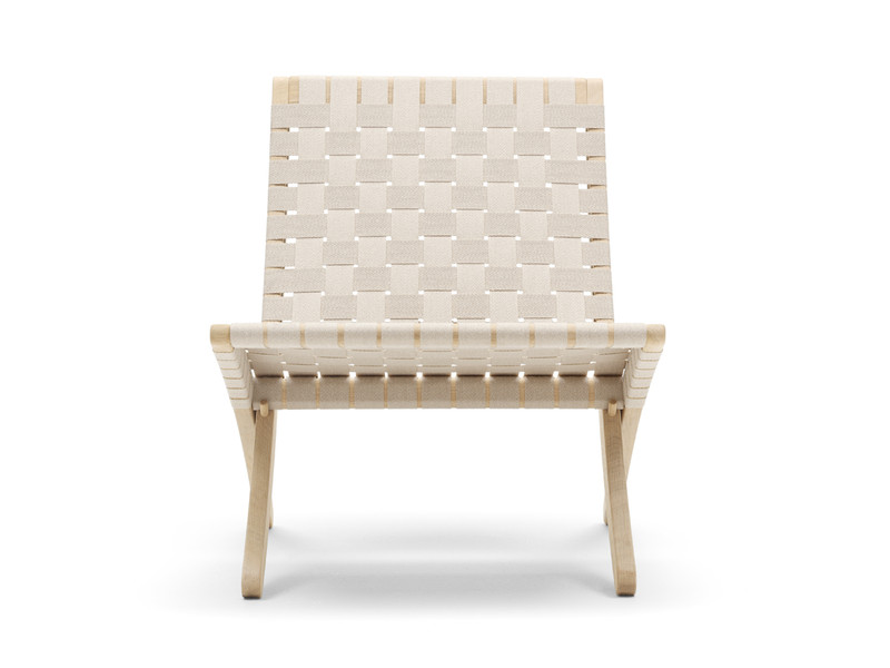 Carl Hansen MG501 Cuba Chair White Oil