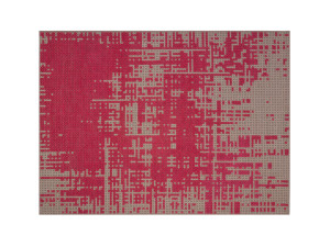 View GAN Canevas Abstract Rug Pink