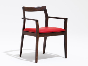 View Knoll Marc Krusin Side Chair With Arms