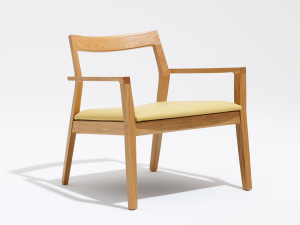 View Knoll Marc Krusin Lounge Chair With Arms