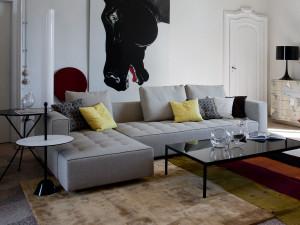 Zanotta 1242 Kilt Modular Sofa