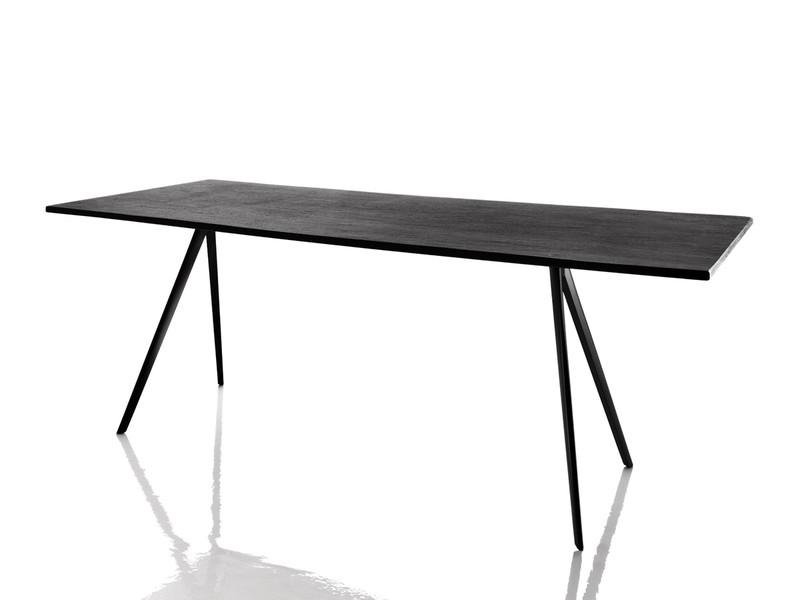 Buy The Magis Baguette Rectangular Dining Table Slate At Nest.co.uk, Dining