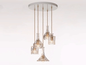 View Lee Broom Decanterlight Chandelier