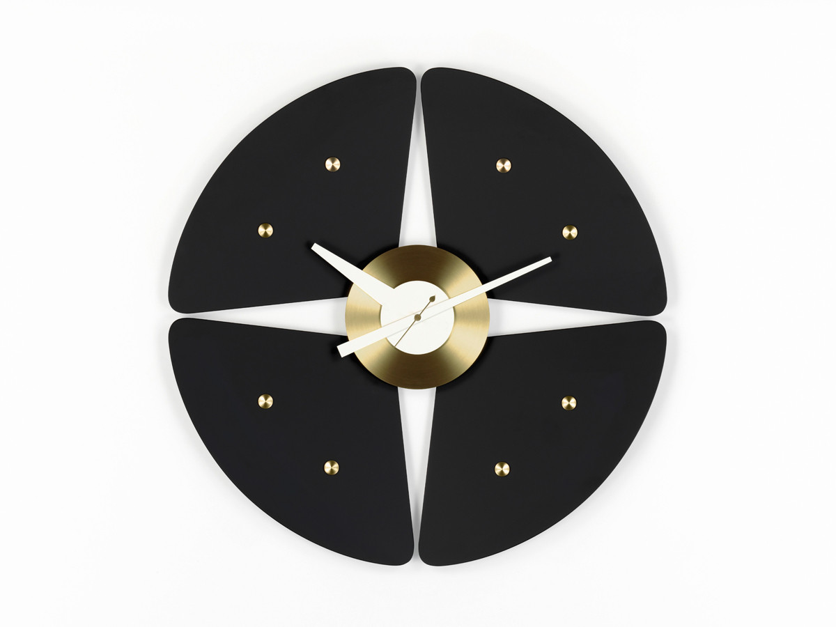 buy the vitra petal wall clock at. Black Bedroom Furniture Sets. Home Design Ideas