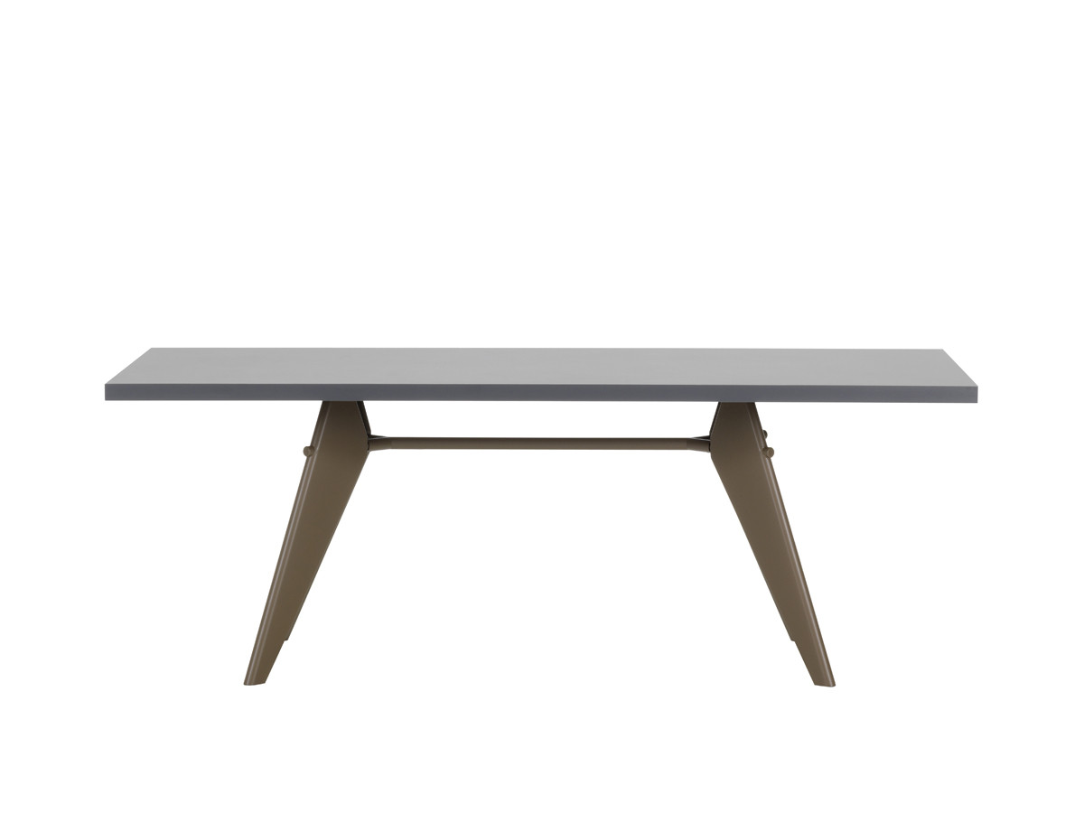Buy the vitra em table hpl at for Table exterieur hpl