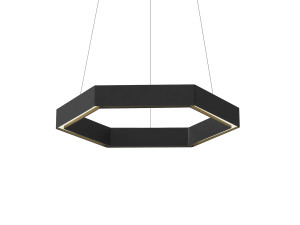 View Resident Hex Pendant Light