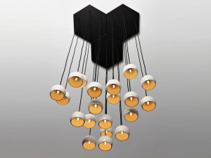 View Resident Bing Bunch Pendant Light