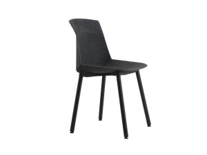 View Cassina 383 Motek Chair with Felt Shell