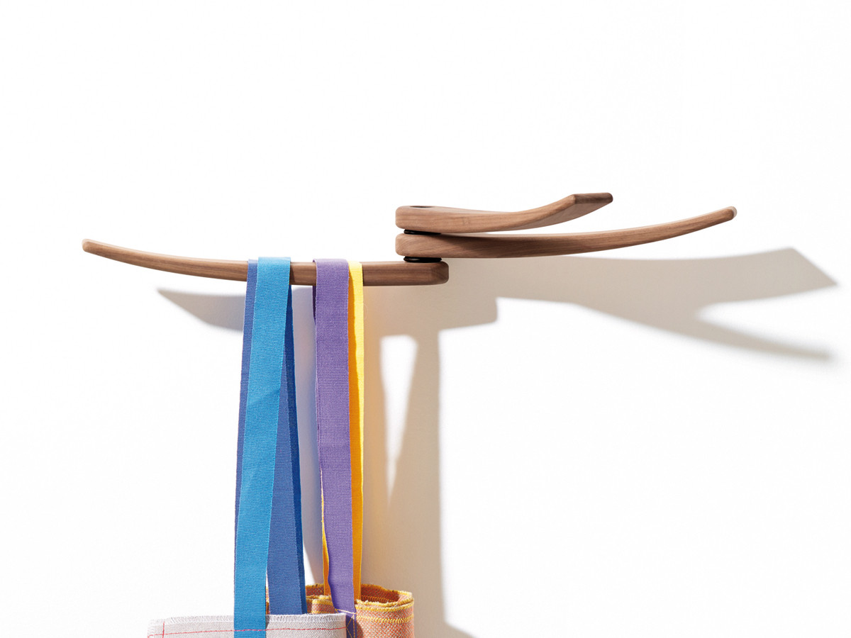 Buy The Arper Wing Wall Mounted Coat Rack At Nest Co Uk