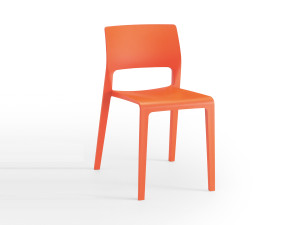 View Arper Juno Chair with Open Backrest
