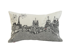 View Charlene Mullen Paris Calling Cushion Cover