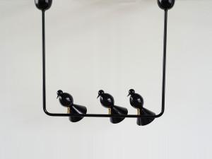 View Atelier Areti Alouette Ceiling Light 3 Birds 'U'