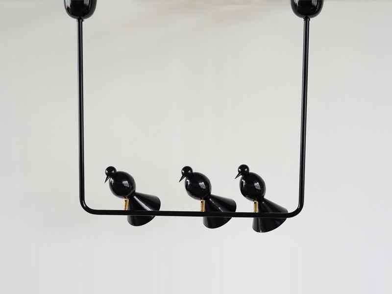 Amazing Atelier Areti Alouette Ceiling Light 3 Birds U0027Uu0027 Ideas