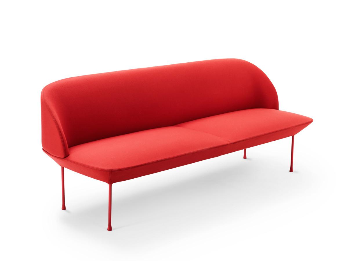 buy the muuto oslo three seater sofa at. Black Bedroom Furniture Sets. Home Design Ideas