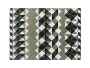 View GAN Hand Tufted Mosaïek Rug Grey