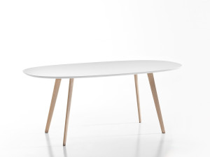 View Arper Gher Oval Table