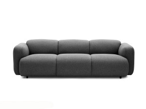 View Normann Copenhagen Swell Three Seater Sofa