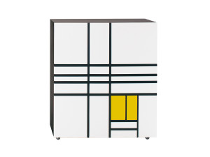 View Cappellini Homage to Mondrian Cabinet 1