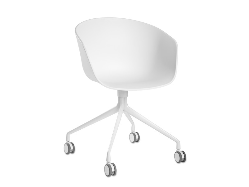 Delicieux Hay About A Chair AAC24   Armchair With Swivel Base And Castors