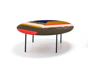 Moroso M.a.s.s.a.s. Fishbone Coffee Table Round