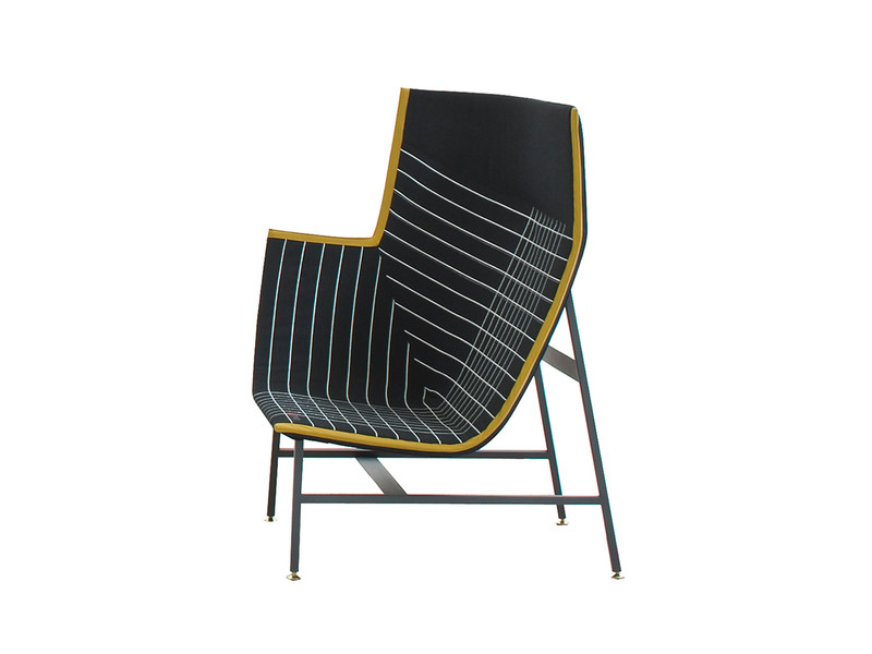 Moroso Paper Planes High Armchair