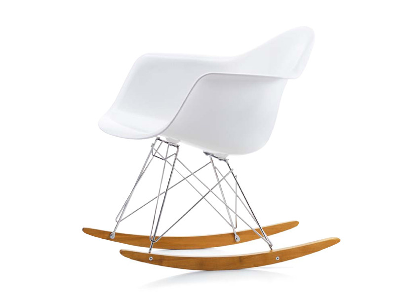 Buy The Vitra Eames Miniature Rar Rocking Chair At