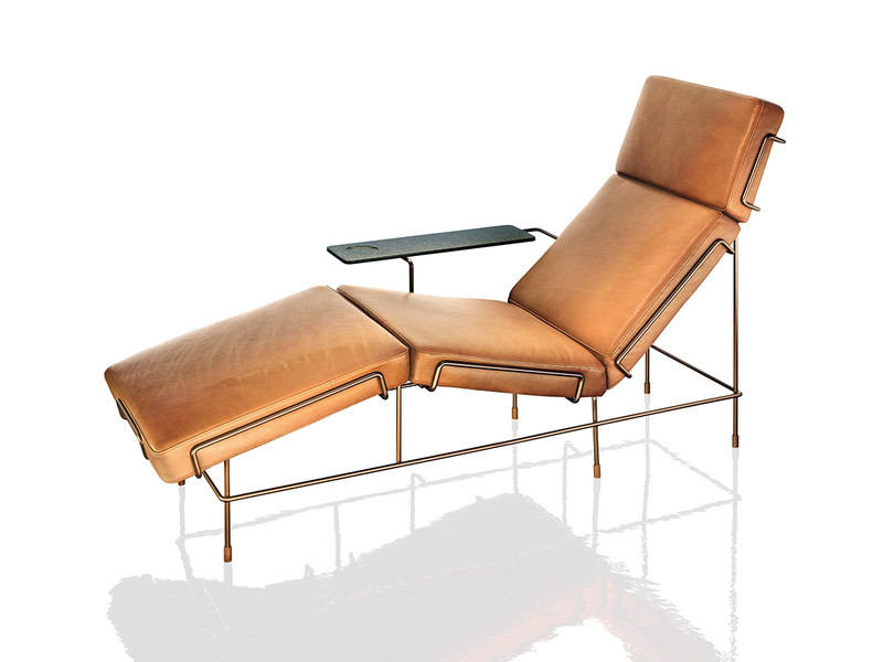 Buy the magis traffic chaise longue at for Chaise longue design piscine